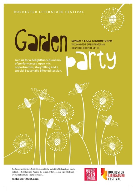 RLF Garden Party poster 2013
