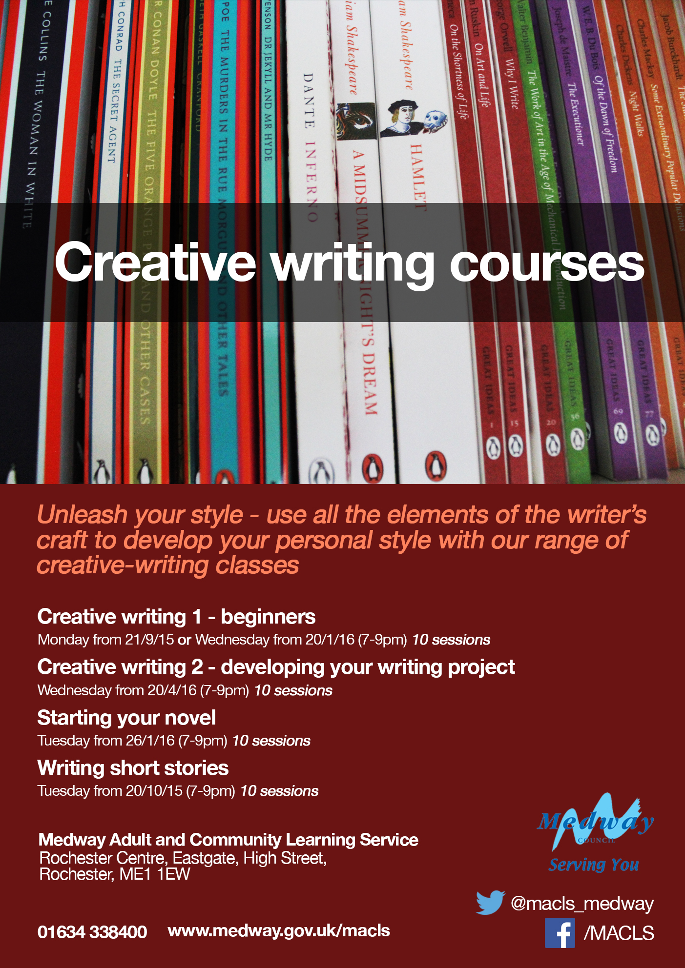 creative writing courses in east london