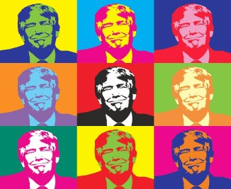 Rochester Literature Festival Art Donald Trump